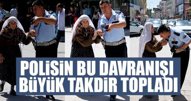 Polisin Bu Davranışı Büyük Takdir Topladı