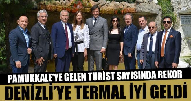 Pamukkale'ye Gelen Turist Sayısında Rekor