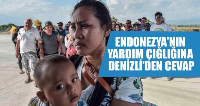 Endonezya'nın Yardım Çığlığına Denizli'den Yanıt