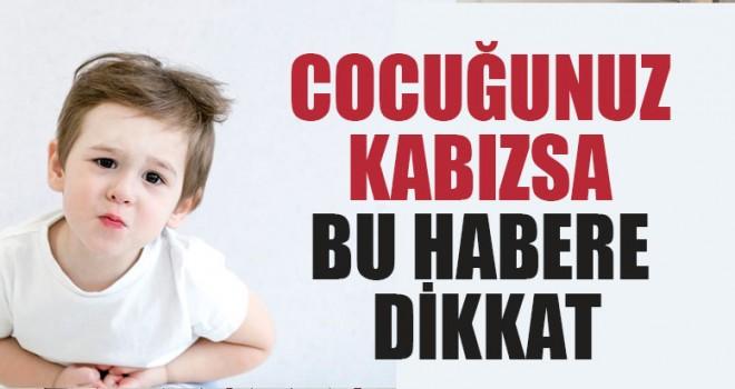 Çocuğunuz Kabızsa Bu Habere Dikkat