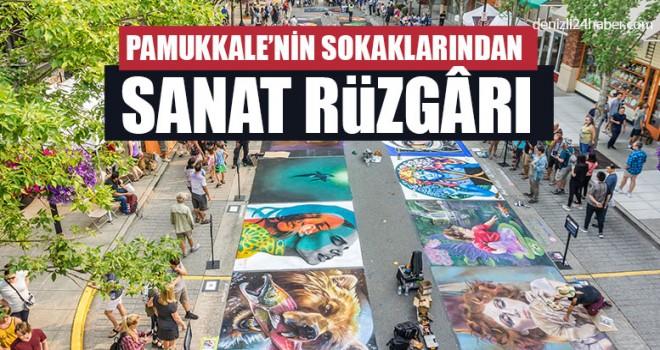Pamukkale'nin Sokaklarından Sanat Rüzgârı