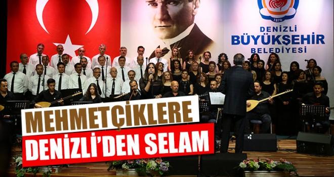Mehmetçiklere Denizli'den Selam