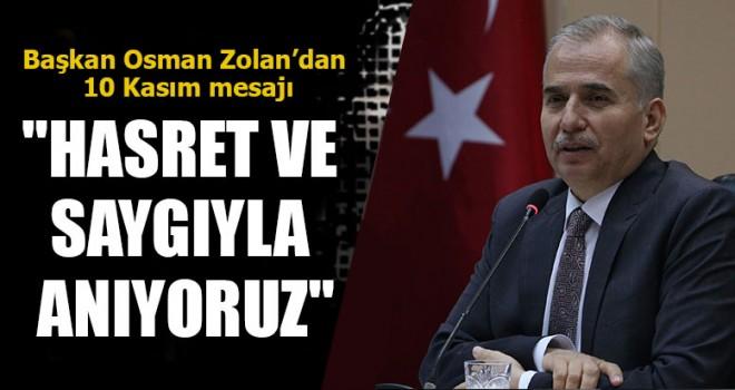 Başkan Osman Zolan,