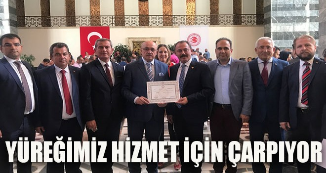 """""""YÜREĞİMİZ HİZMET AŞKIYLA ÇARPIYOR"""""""