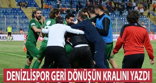 Denizlispor Adana'da geri döndü 4-3
