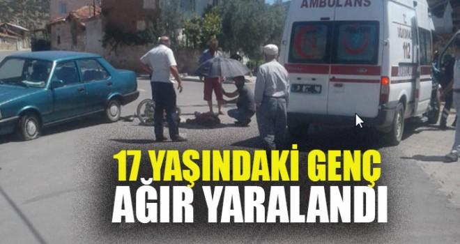 17 Yaşındaki Genç Ağır Yaralandı