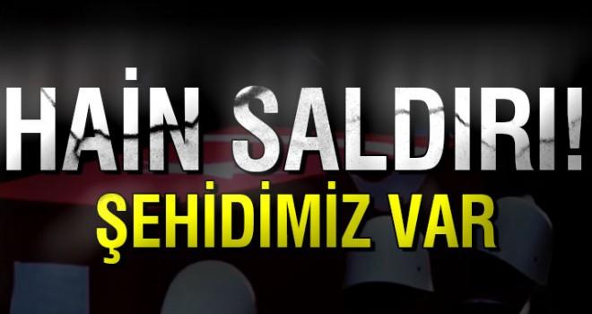 Şırnak'ta hain tuzak: 1 şehit!