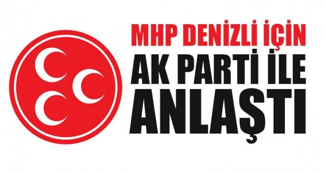 MHP Denizli İçin AK Parti İle Anlaştı