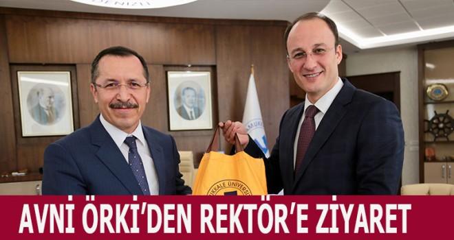 ÖRKİ'DEN REKTÖR BAĞ'A ZİYARET!