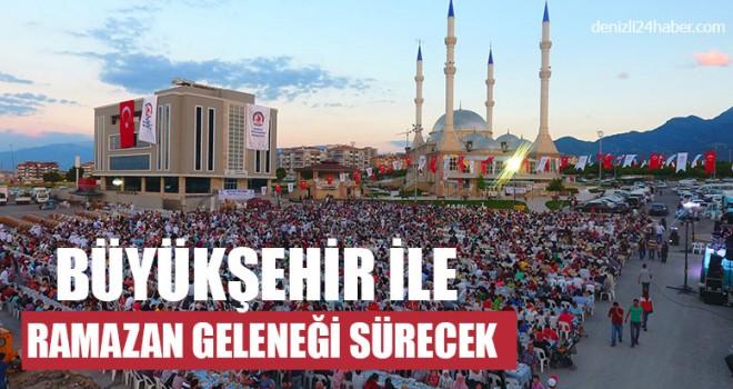 Büyükşehir İle Ramazan Geleneği Sürecek