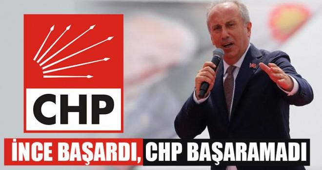 İnce Başardı, CHP Başaramadı