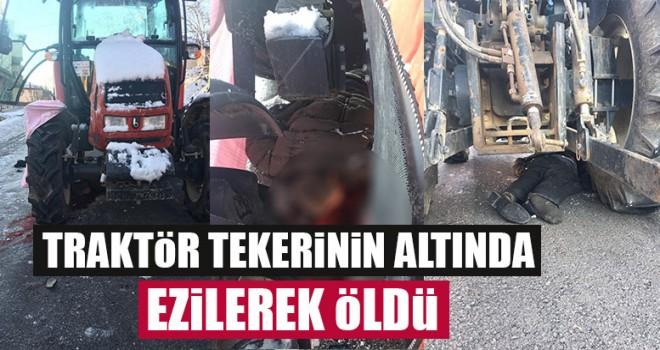 Traktör Tekerinin Altında Ezilerek Öldü