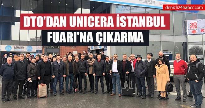 DTO'dan Unıcera İstanbul Fuarı'na Çıkarma