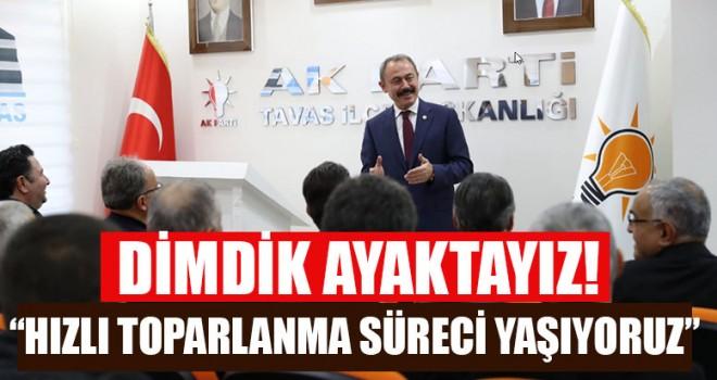 """AK Parti Denizli Milletvekili Tin, """"Dimdik Ayaktayız!"""""""