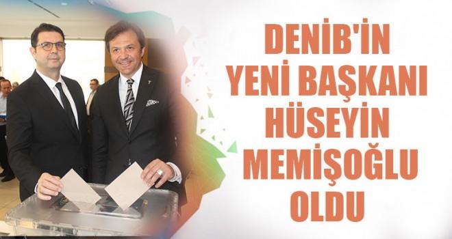 DENİB'in Yeni Başkanı Hüseyin Memişoğlu Oldu