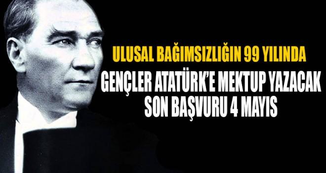 Gençler Gazi Mustafa Kemal'e mektup yazacaklar