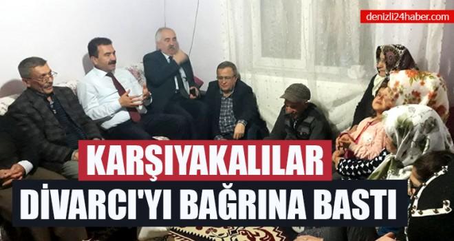 Karşıyakalılar Ahmet Divarcı'yı Bağrına Bastı