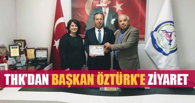 THK'dan Başkan Öztürk'e Ziyaret