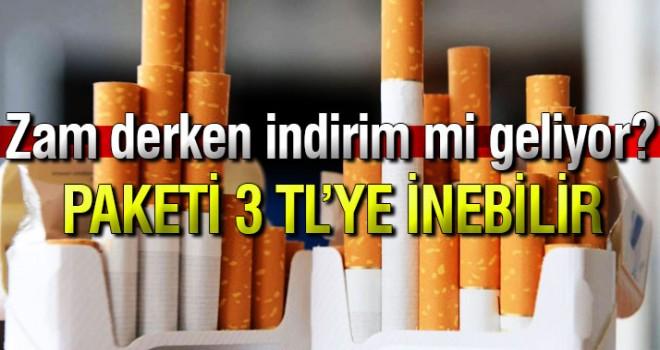 Sigarada asgari maktu vergi sıfırlandı! Paketi 3 TL'ye inebilir
