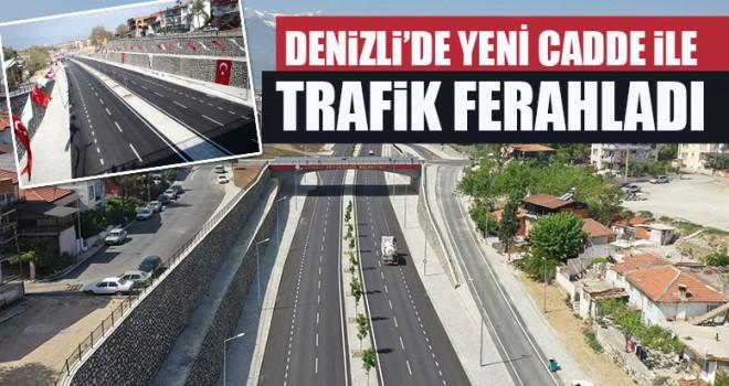 Denizli'de Yeni Cadde İle Trafik Ferahladı