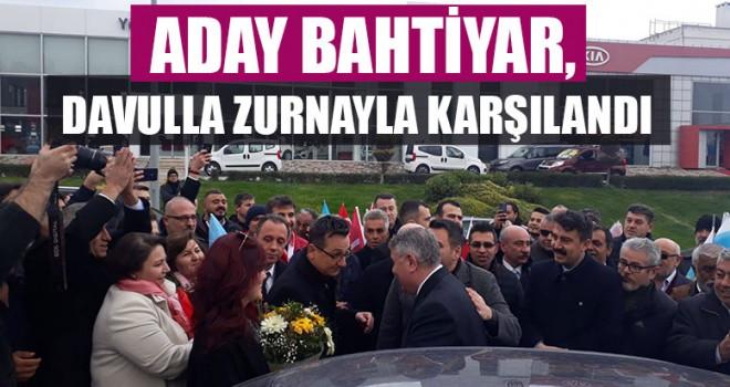 Aday Bahtiyar, Davulla Zurnayla Karşılandı