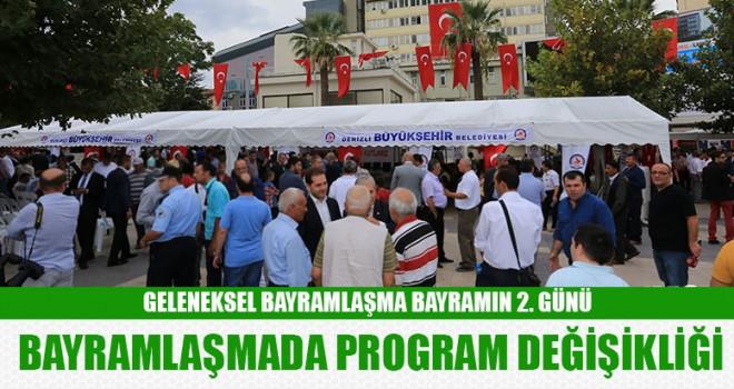 Denizli'de geleneksel bayramlaşma bayramın 2. Günü