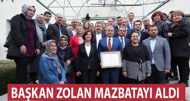 ZOLAN MAZBATA'YI ALDI