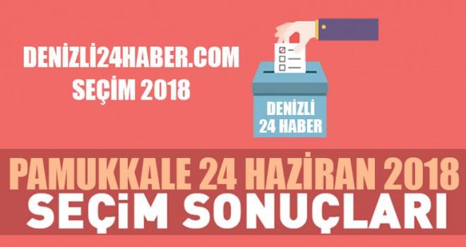 Pamukkale 2018 seçim sonuçları Pamukkale Cumhurbaşkanlığı seçim sonuçları
