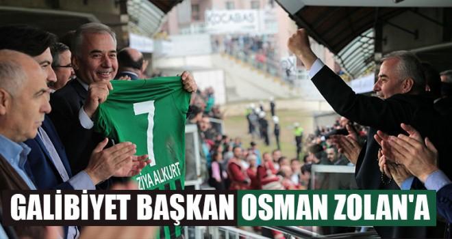 Galibiyet Başkan Osman Zolan'a