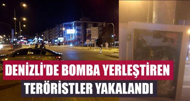 Denizli'de Bomba Yerleştiren Teröristler Yakalandı