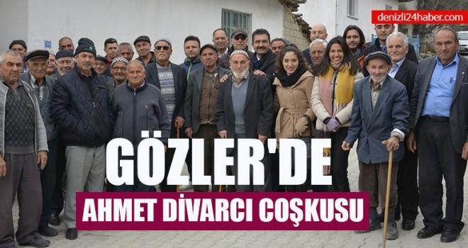 Gözler'de Ahmet Divarcı Coşkusu