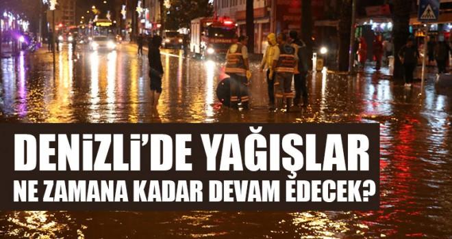 Denizli'de Yağışlar Ne Zamana Kadar Devam Edecek?