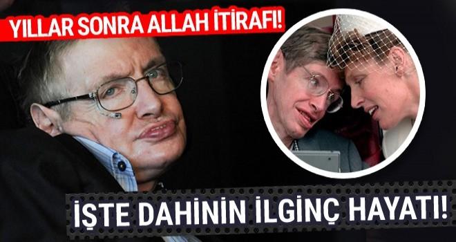 Stephen Hawking'in ilginç yaşamı yıllar sonra Allah var demişti