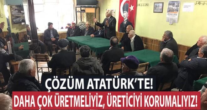 Vatan Partisi adayı Güleç, 'Çözüm Atatürk'te'