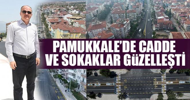 Pamukkale'de Cadde Ve Sokaklar Güzelleşti