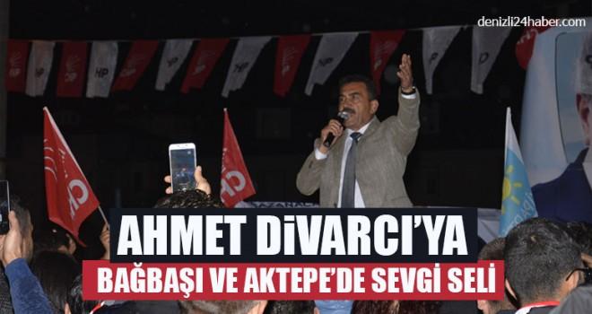 Divarcı'ya Bağbaşı ve Aktepe'de Sevgi Seli