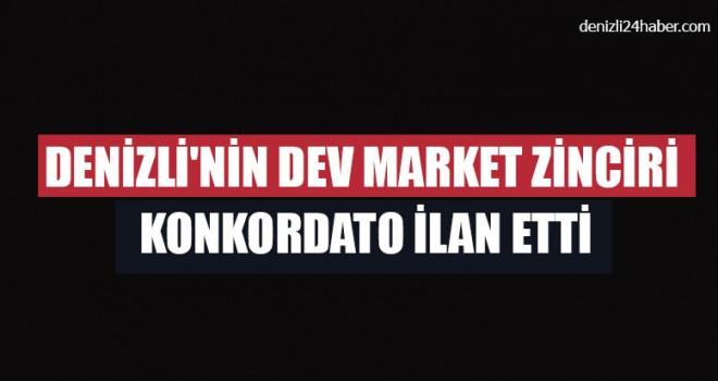 Denizli'nin Dev Market Zinciri Konkordato İlan Etti
