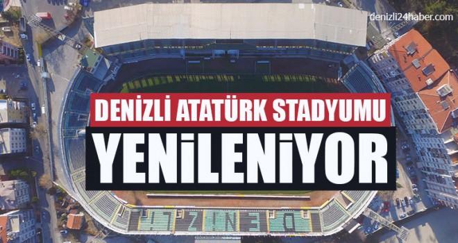 Denizli Atatürk Stadyumu Yenileniyor