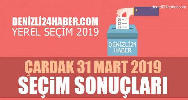 Çardak yerel seçim 2019 sonuçları | Çardak belediye seçim sonuçları | Cumhur ittifakı Millet ittifakı oy oranı