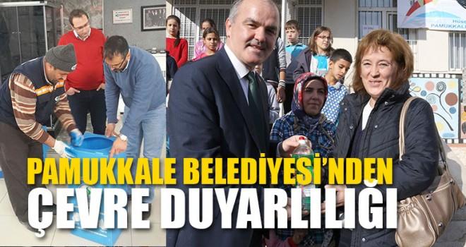 Pamukkale Belediyesi'nden Çevre Duyarlılığı
