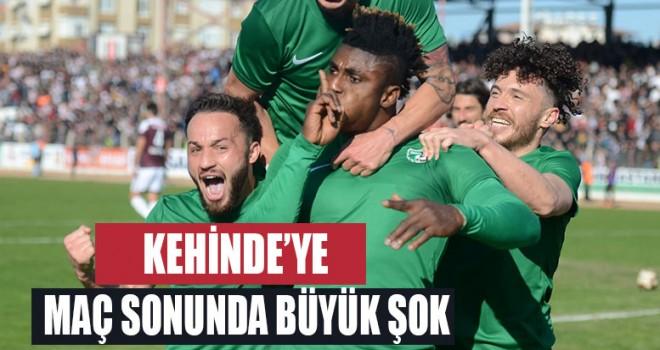 Denizlispor'da Kehinde'ye büyük şok!
