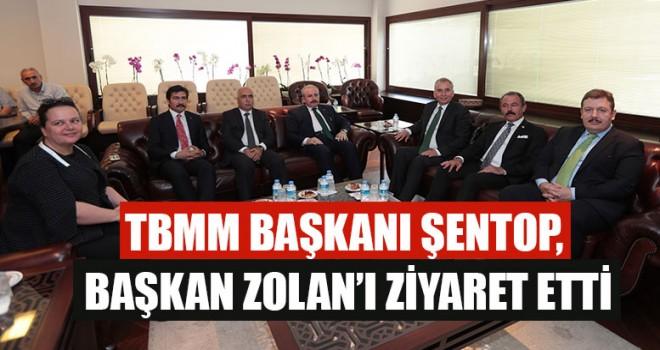 TBMM Başkanı Şentop, Başkan Zolan'ı Ziyaret Etti