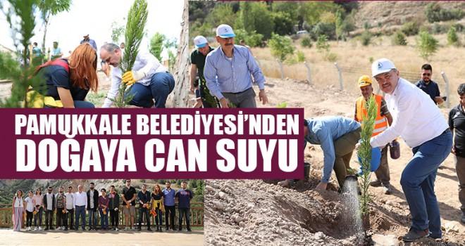Pamukkale Belediyesi'nden Doğaya Can Suyu
