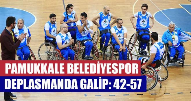 Pamukkale Belediyespor Deplasmanda Galip: 42-57