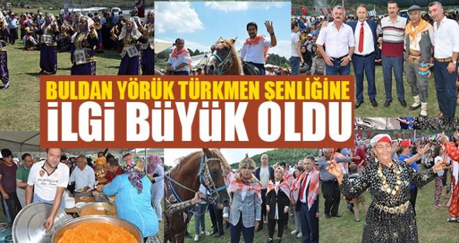 Buldan Yörük Türkmen Şenliğine İlgi Büyük Oldu