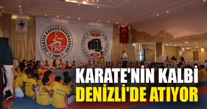 Karate'nin Kalbi Denizli'de Atıyor
