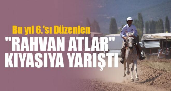 """""""Rahvan Atlar"""" Kıyasıya Yarıştı"""