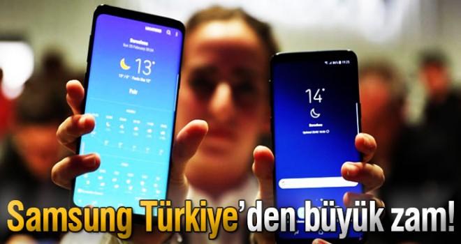 Samsung Türkiye'den zam!