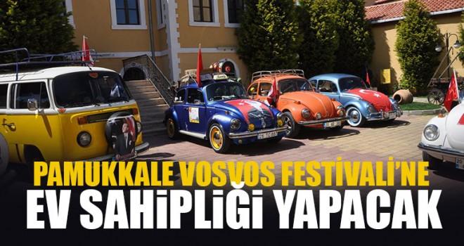 Pamukkale Vosvos Festivali'ne Ev Sahipliği Yapacak