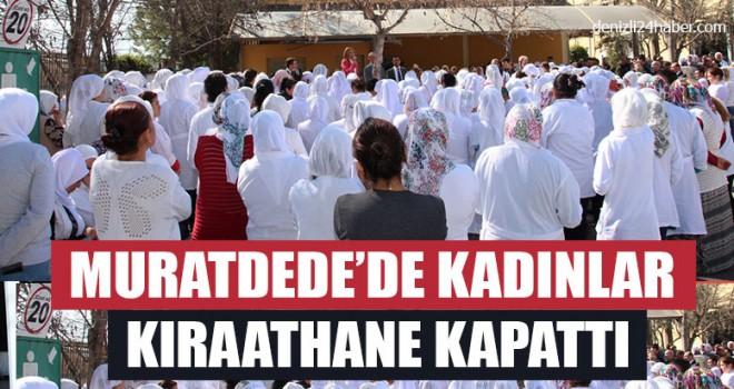 Muratdede'de Kadınlar Kıraathane Kapattı